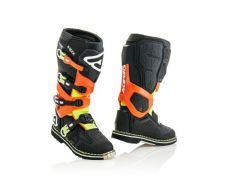 New 2020 Acerbis X-ROCK Boots Black Orange Motocross Enduro
